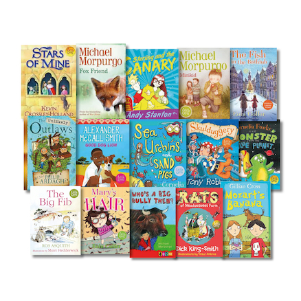 KS2 Engaging Dyslexic Readers Books 15pk  large
