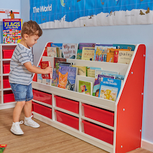 Valencia Tiered Book Storage Units  medium