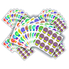 Times Table Reward Stickers 660pk  small