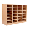 Open Storage Unit with 24 Small Compartments  small