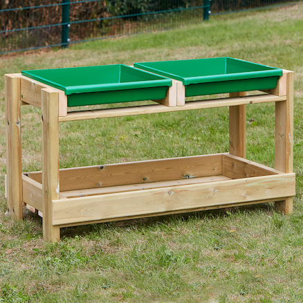 Wooden Tray Activity Centre  large