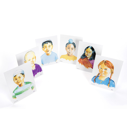 World Religions Faith Child Image Pack 6pk  large