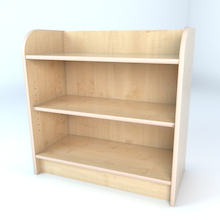 Library Bookcase In Maple  medium