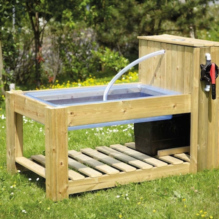 Outdoor Water Pump Station Table  large
