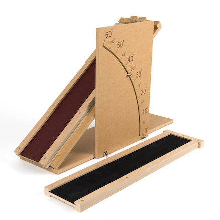 Wooden Slope With Hinged Base  large