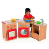 Wooden Pack Away Toddler Role Play Kitchen  small