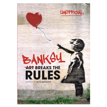 Behind the pseudonym: Banksy, Hardback Biography  large
