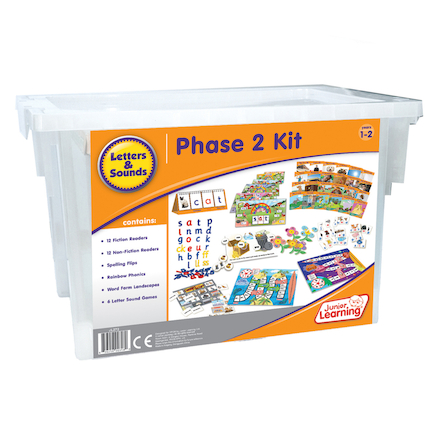 Budget Phonics Kit  Phase 2  large