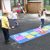 Outdoor Hopscotch Mat  small