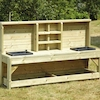 Outdoor Wooden Messy Play Station  small