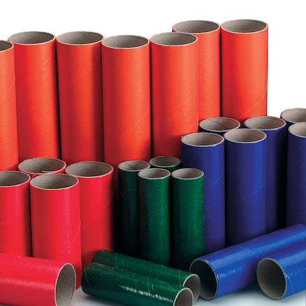 Assorted Cardboard Tubes 60pk  large