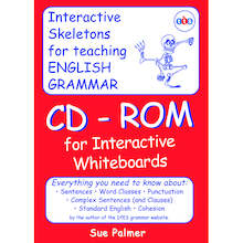Grammar Skeleton CD-ROM by Sue Palmer  medium