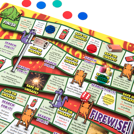 Personal Safety and Well Being Board Games 6pk  large
