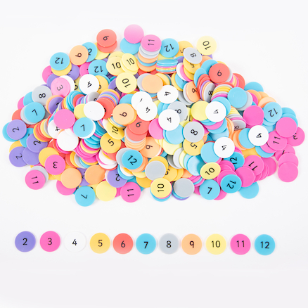 Multiplication Counters Class Packs  large