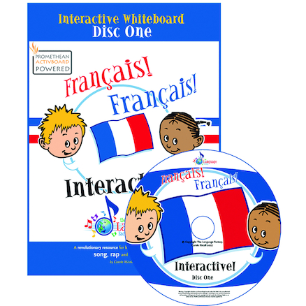 Francais Francais Interactive Whiteboard CD  large