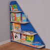 Sailing Bookcase W120 x D30 x H130cm  small