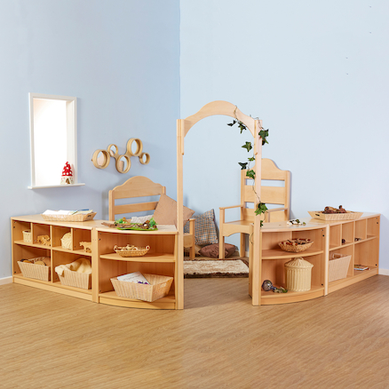 Rampton Early Years Natural Wooden Furniture Set  large