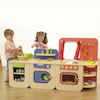 Modern Wooden Role Play Kitchen Buy All and Save  small