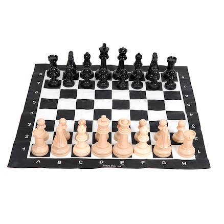 Large Plastic Garden Chess Game with Board  large