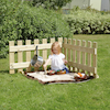 Toddler Outdoor Wooden Portable Fence Panels  small