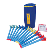 Sportshall Athletics Foam Javelin Pack  medium