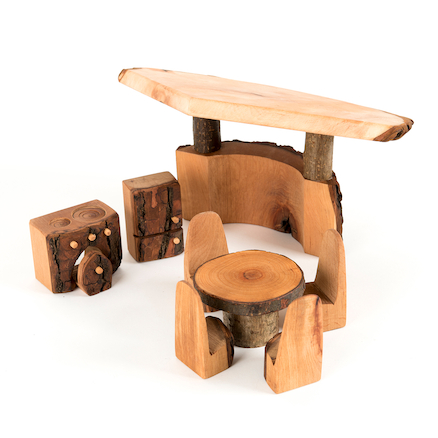 Woodland Wooden Small World Kitchen Furniture  large
