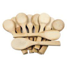 Wooden Craft Spoons 10pk  medium