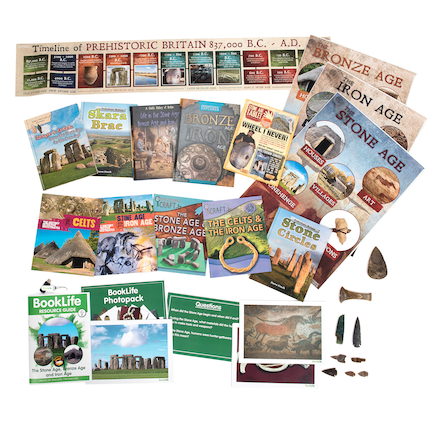 Stone to Iron Age Curriculum Kit  large