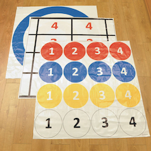 Hover Ring 3 Target Mats and Pushers  medium
