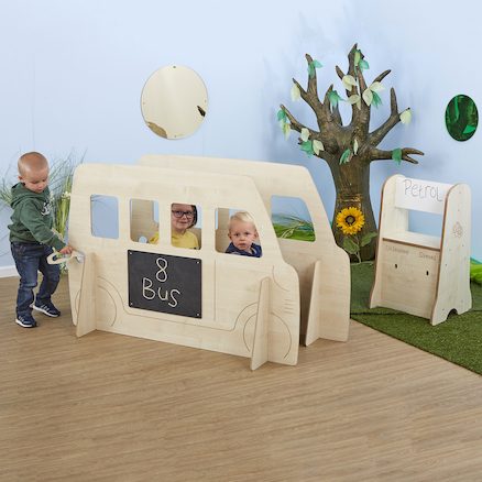 Toddler Bus Role Play Panel  large