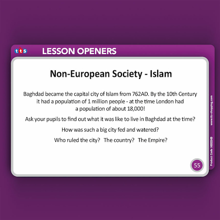 Historical Lesson Openers KS2  large