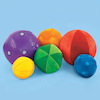 Machine Washable Soft Tactile Sensory Balls 6pk  small
