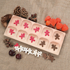 Wooden Ten Frame Counting Tray  small