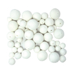 White Paper Balls Assorted 30pk  small