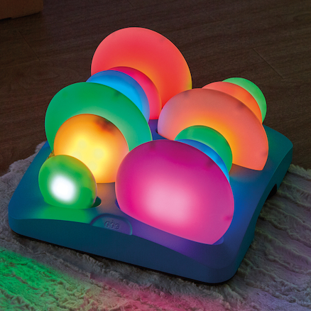 Illuminated Sensory Glow Pebbles 12pcs  large