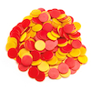 Two Colour Counters Red\/Yellow 200pk  small