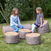 Woodland Tree Stumps Bean Bags  small