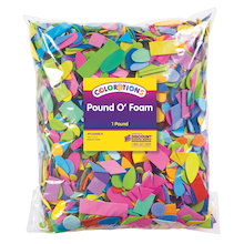 Large Bag of Foam Shapes 4475pk  medium