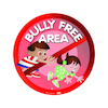 Bully Free Area Playground Sign  small