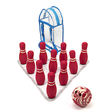 Super Soft Foam Bowling Set 10 Pins  medium
