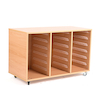 18 Shallow Tray Storage Unit Without Trays  small