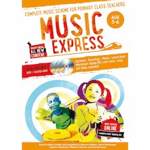 Music Express Books and CD Roms  medium