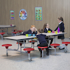 Rectangular 8 Seater Folding Table  small