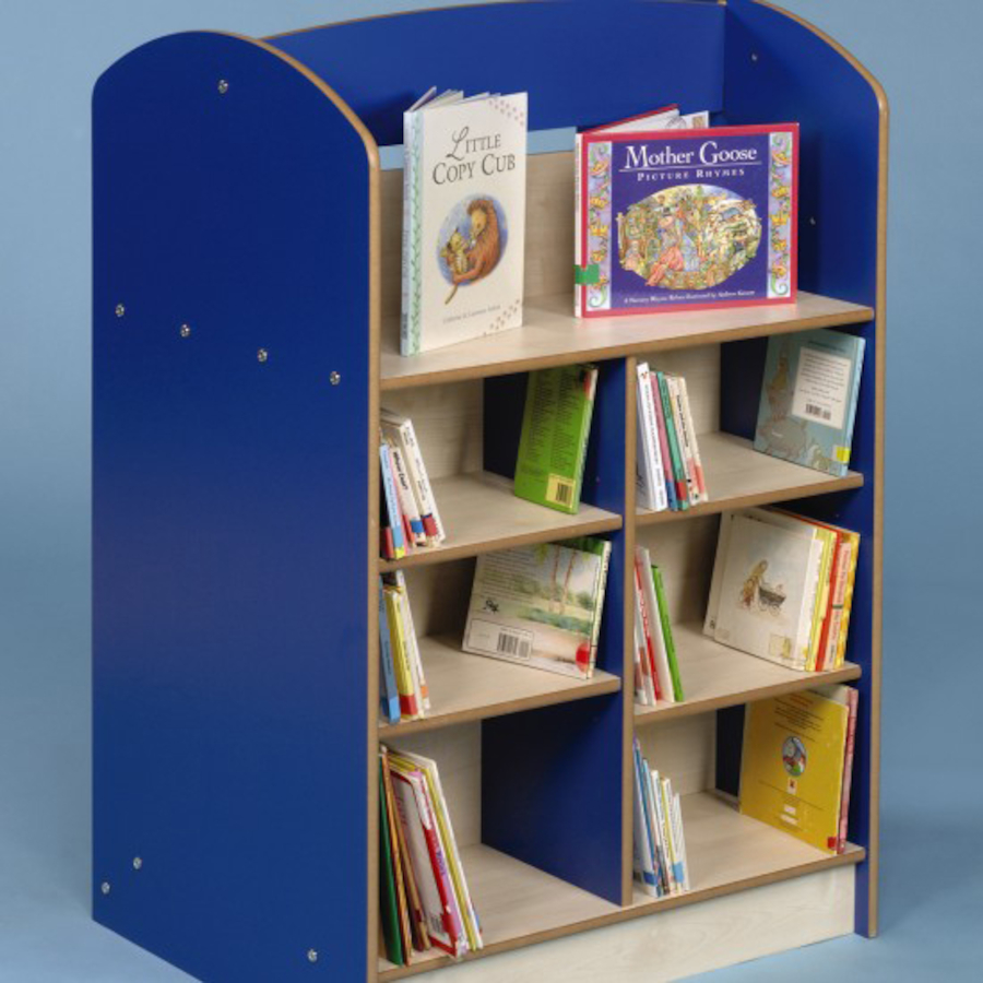 Buy Double Sided Bookcase Height 1200mm
