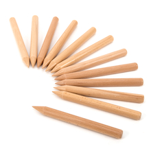 Wooden Easy Grip Mark Making Stick Pens  medium