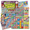 6 Super Spelling Rules Board Games  small
