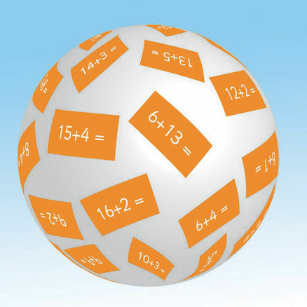 Inflatable Maths Talk Balls  large