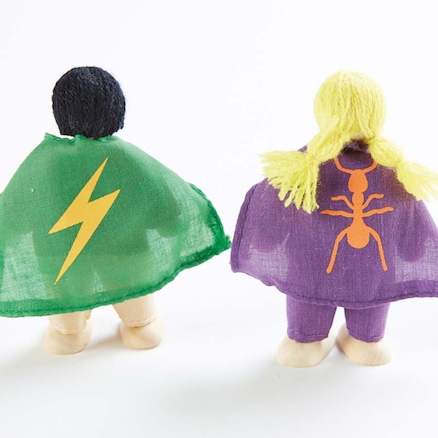 Small World Superhero Figures 10pk  large