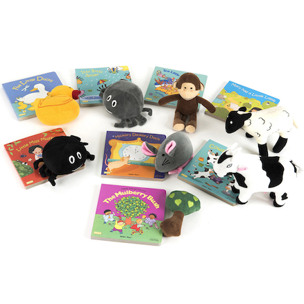 Parents Take Home Rhyme Book and Toy Set 8pk  large