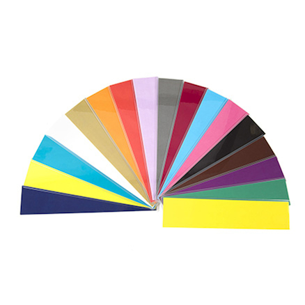 Coloured Plastic Book Band Dividers  large